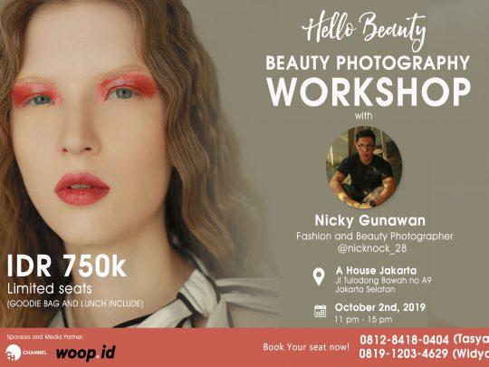Beauty Photography Workshop By Nicky Gunawan